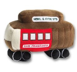 BARKOLOGY® PLUSH CABLE CAR