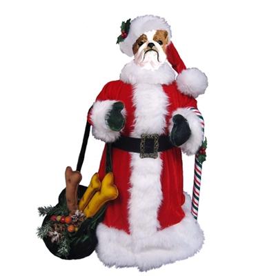 "12"" Santa Paws"