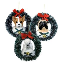 Large Head Wreath Ornament