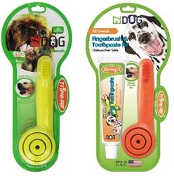 Triple Pet EZDOG Finger Brush