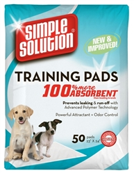 Simple Solution Original Training Pads - 50 Pad Pack   .