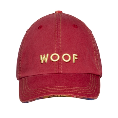 BARKOLOGY® WOOF - RED