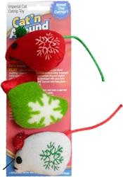 Holiday Catnip Toy Trio