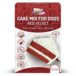 Puppy Cake Mix and Frosting - Red Velvet (Wheat-Free) for Birthday + More