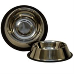 Non-Tip Anti-Skid Stainless Steel Feeding Bowls 8 oz to 96 oz