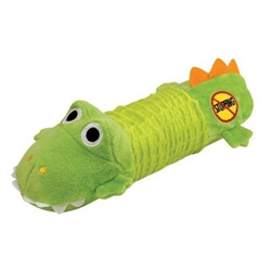 Petstages Stuffing Free Big Squeak - Gator