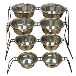 Uniwire Double Diner with Bowls