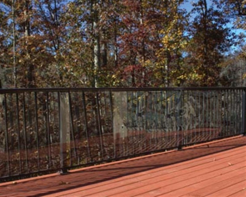 Clear Outdoor Deck Shield