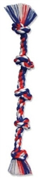 Cottonblend Color 5 Knot Rope Tug