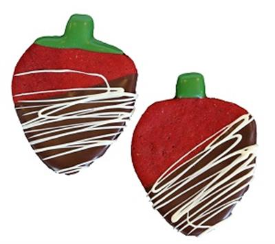 Carob Dipped Strawberries