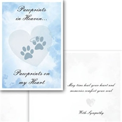 Pawprints in Heaven  (6-Pack)
