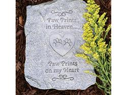 Pawprints In Heaven… Memory Stones