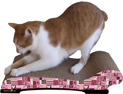 Scratch 'n Shapes Valentine Chaise Cat Scratcher