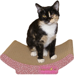 Scratch 'n Shapes Valentine Cozy Curl Scratcher