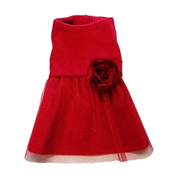Miss Red Dress by Ruff Ruff Couture®
