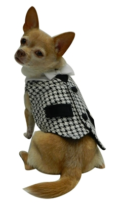 Kalo Vest with White Bowtie by Ruff Ruff Couture®