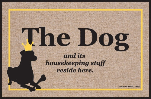 The Dogs & Housekeeping staff resides here - Doormat