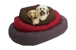 RepelzIt Material Donut Dog Beds