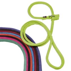 Dogline Comfort Microfiber Round Slip Lead