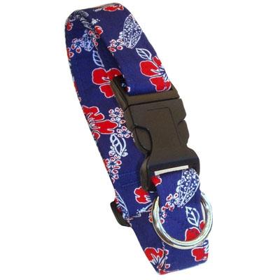 Laguna Blue Beach Dog Collars and Leashes