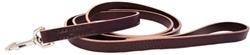 Training Leashes - Leather - Burgundy & Black