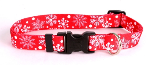 Red Snowflake Collection