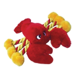 "8"" Lobster Plush Toy w/ Rope (00032)"