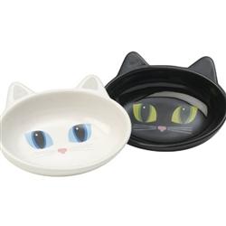 Frisky Kitty Stoneware Cat Bowls