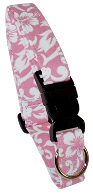 Newport Pink Beach Dog Collars and Leashes