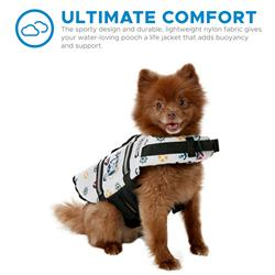 Paws Aboard Dog Life Jacket - NAUTICAL