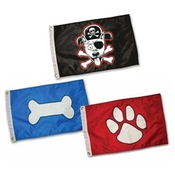 Paws Aboard Flags