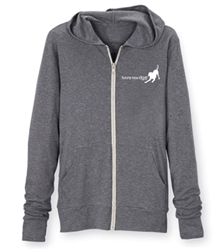 Wag - Storm Grey Zippered Hoodie