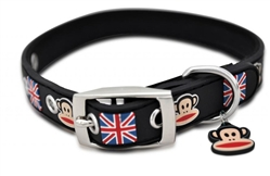 Union Jack Rubberized Collars & Leashes