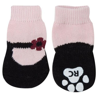 Pawks - Pink Mary Janes