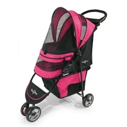 Gen7Pets® Regal Plus™ Pet Stroller Raspberry Sorbet