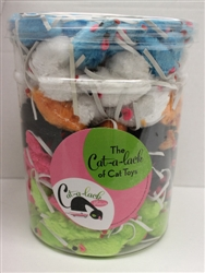 "2 1/2 "" Mice - Asst Colors 216 pc Jar"