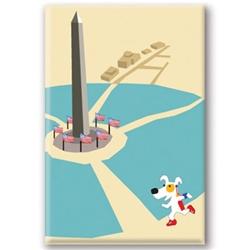 DC, Washington Monument - Fridge Magnet