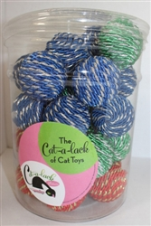 Shiny Rope Balls 30 pc Jar