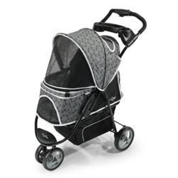 Gen7Pets® Black Onyx Promenade™ Pet Stroller