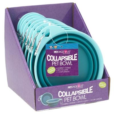 Collapsible Pet Bowl - Display Box