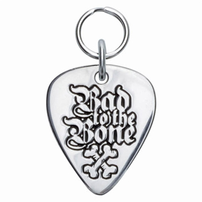 Guitar Pick Sterling Silver Pet ID Tags