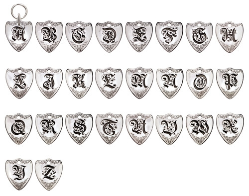 Small Crest Sterling Silver Pet ID Tags