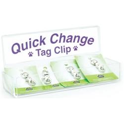 Quick Change Tag Clip