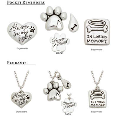 Pet Memorial Jewelry Collection