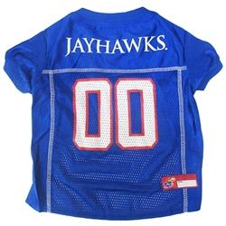 Kansas Jayhawks Dog Jersey