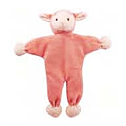 "Lolly 9"" Lamb - Stuffless Toy w/Crinkle"