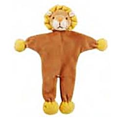 """Leo 9"""" Lion - Stuffless Toy w/Crinkle"""