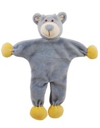 """Wally 9"""" Blue Bear - Stuffless Toy w/Crinkle"""