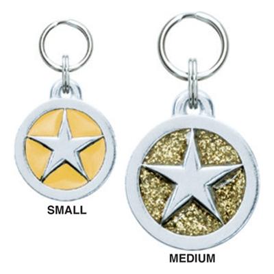 Small Circle Symbol Pet ID Tags
