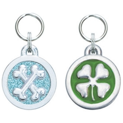 Medium/Large Circle Symbol Pet ID Tags